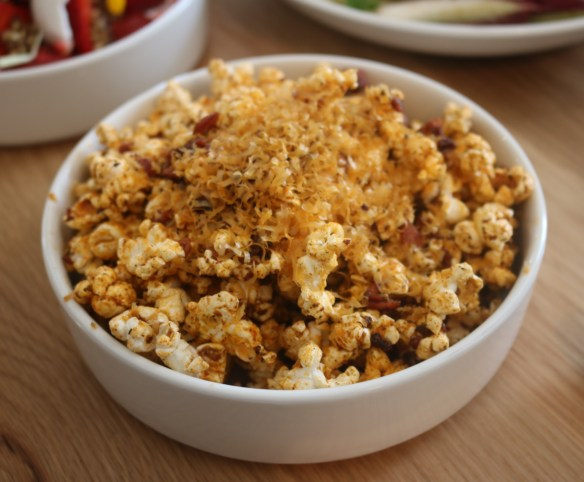 Mammoth - Egg and bacon popcorn