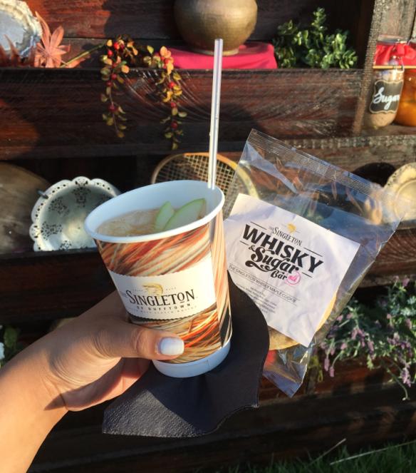 Melbourne Night Noodle Market 2015 - Singleton maple whisky and momofuku milkbar cookie