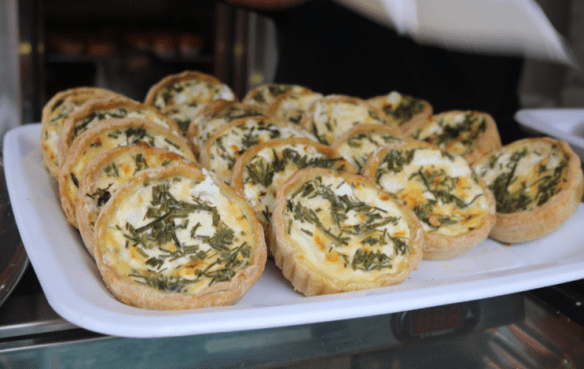 Paris to Province - Goats cheese tarts