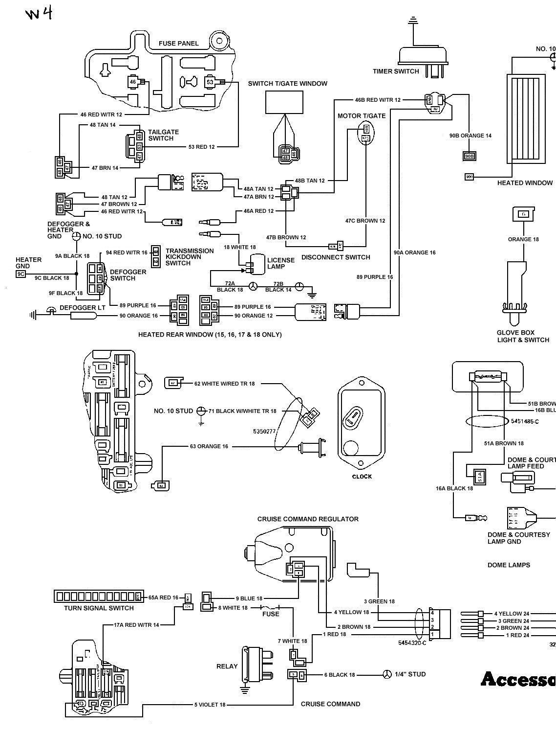 78 dodge van wiring diagram