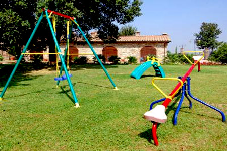 Park of the farmhouse Gli Olmi, Cecina Tuscany