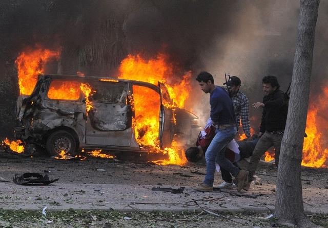Συρια εκρηξεις