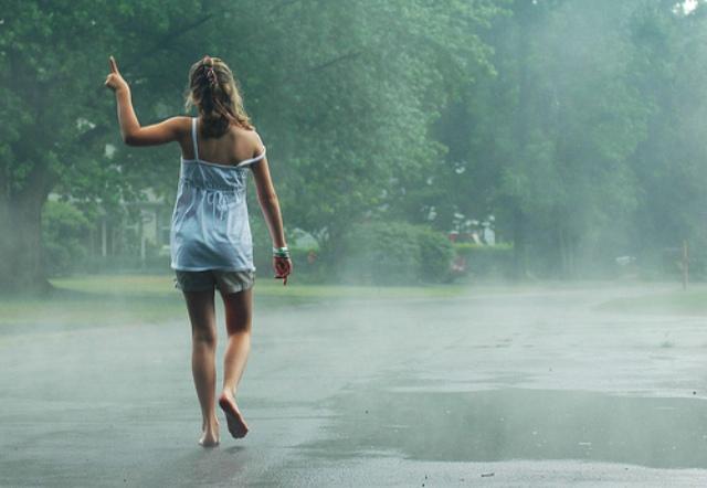 βροχη καλοκαιρι