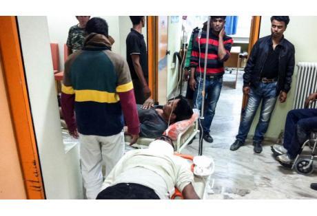 τραυματιες Μανωλαδας