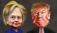 Το νέο εξώφυλλο του «TIME» για τις αμερικανικές προεδρικές εκλογές