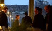 Δείπνο κάτω από την Ακρόπολη με πολλά εδέσματα επιφύλασσε για την Μέρκελ ο Σαμαράς