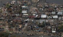 Το ρεζουμέ του τυφώνα «Matthew» για την Αϊτή σε μία γελοιογραφία