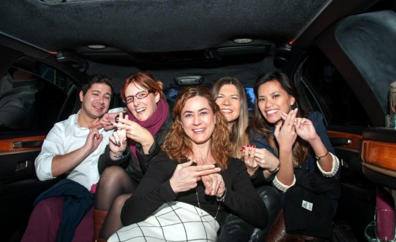TBG launch_Sattas Group limo tour