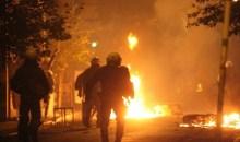 Πετροπόλεμος, δακρυγόνα και χειροβομβίδες κρότου – λάμψης το βράδυ στα Εξάρχεια