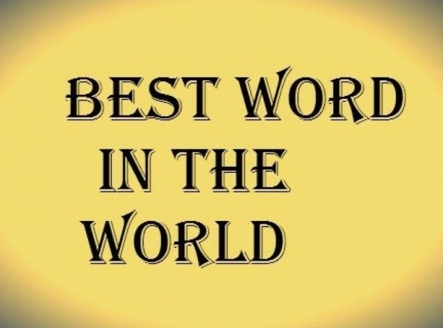 best word in the world
