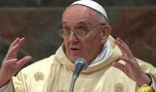 Ο αθυρόστομος Πάπας Φραγκίσκος – Τί είπε την ώρα του κηρύγματος του (video)