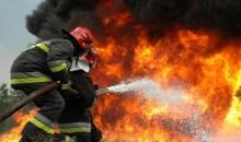 Πυρκαγιά κατέστρεψε ολοσχερώς το εργοστάσιο γάλακτος ΚΡΙ – ΚΡΙ στις Σέρρες