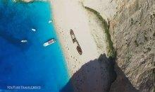 Βίντεο: Το ναυάγιο της Ζακύνθου από ψηλά!