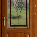 Fazettás tiffany bejárati ajtó