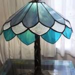 Kék Tiffany lámpa