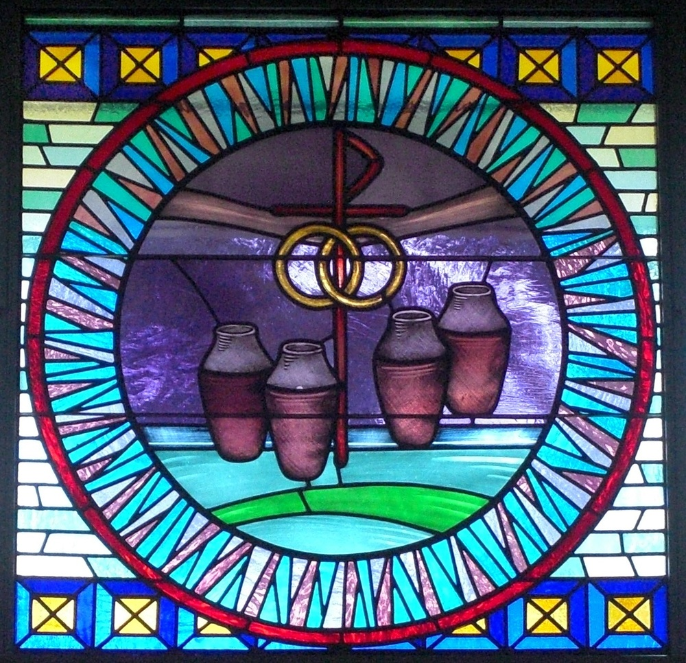 Cana Windows Stained Glass Windows Our Lady Of Perpetual Help Church