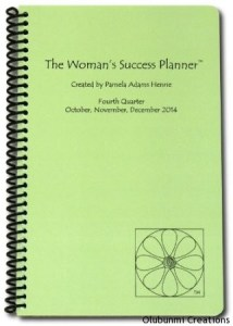 Womans Success Planner - Oct-Dec2014