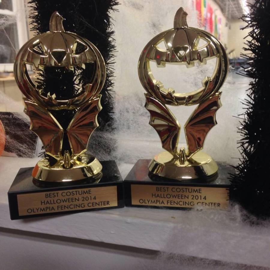 halloween trophies