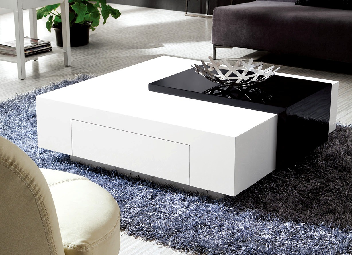 Modern Black And White Coffee Table Olympian Sofas Black And White High Gloss Coffee Table