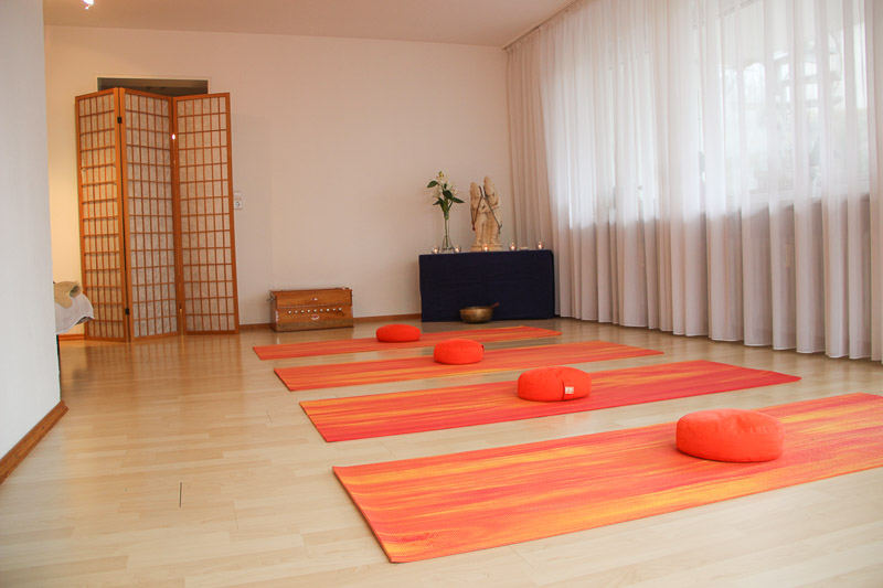 Yogaschule Überlingen, Raum