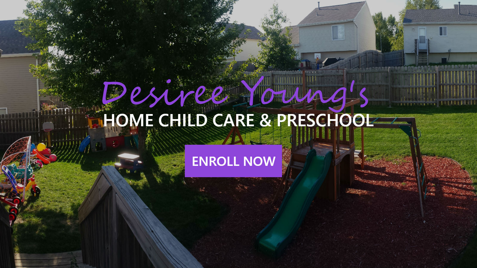 Omaha Home Child Care And Preschool Provided By Desiree Young - Infant Care Omaha