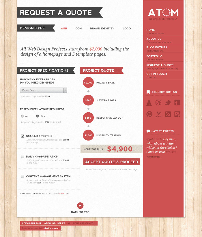 fat-man collective clean, black\/grey\/gold Site Inspiration - professional resume examples free