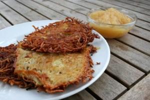 Kartoffel Kohlrabi Reibekuchen