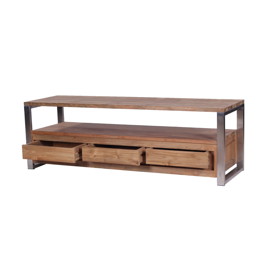 Slim Tv Unit Industrial Tv Unit The Seger Stunning Reclaimed Teak