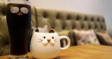 《美食*新北中和區》遇見貓輕食咖啡館 南勢角站.貓咪主題平價早午餐