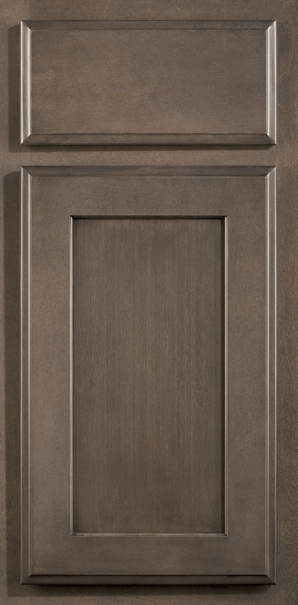 Dark Cherry Cabinets Smokey Hills Gray Cabinet Stain On Maple - Omega