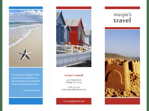 ms publisher tri fold brochure template