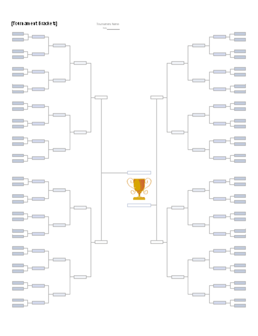 competition brackets template