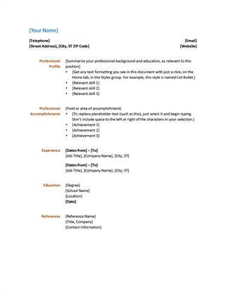 Functional Resume Tips For An Administrative Assistant Simple Resume Office Templates