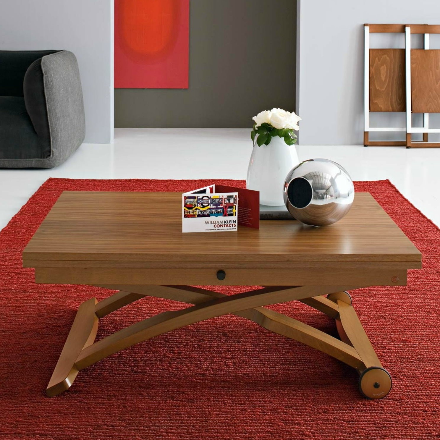 Klappbarer Couchtisch Mascotte Coffee Dining Table