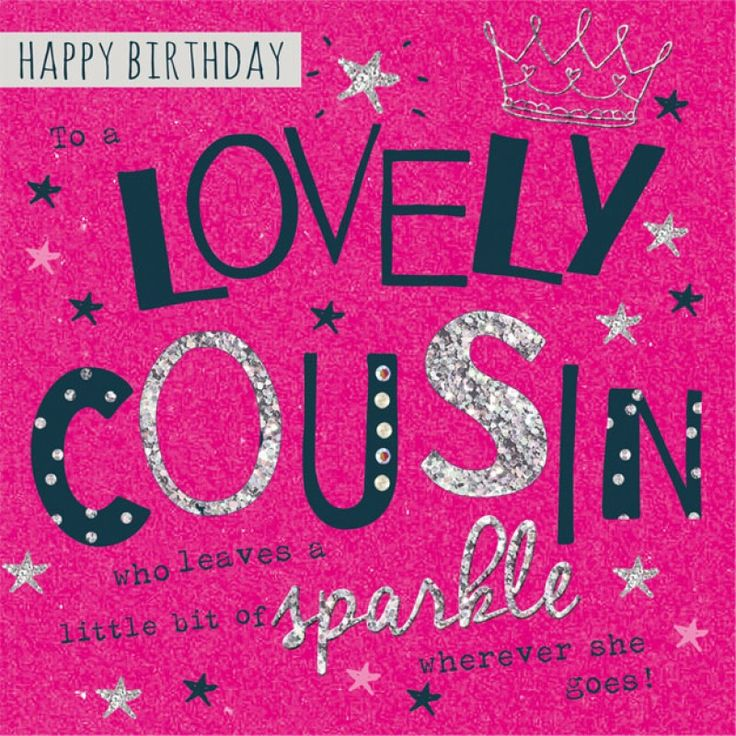 Happy Birthday Cousin Happy Birthday Greeting Cards Pinterest - birthday wish template