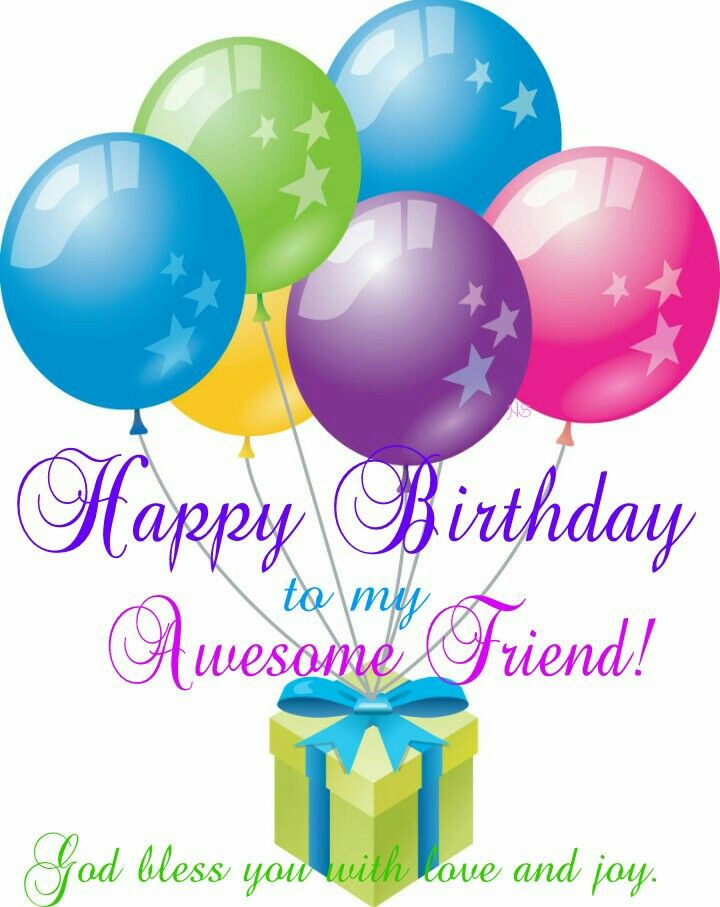 Best 25+ Happy birthday my friend ideas on Pinterest Happy - happy birthday word template