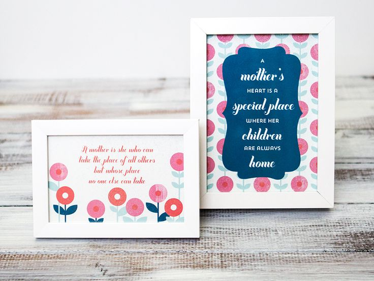 Mother\u0027s Day Quotes  These free printable quotes make great
