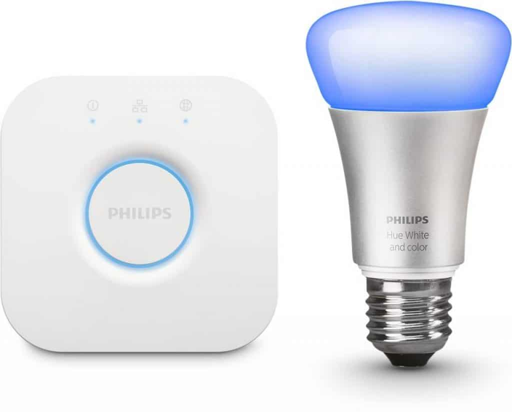 Philips Hue Starter Kit E27 Philips Hue Mini Starter Kit With 10 Watt E27 Bulb Omgtricks