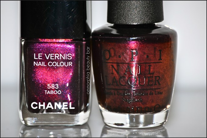 CHANEL Taboo vs OPI
