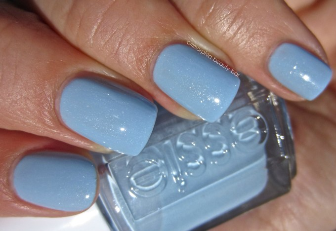 essie Rock The Boat swatch 2