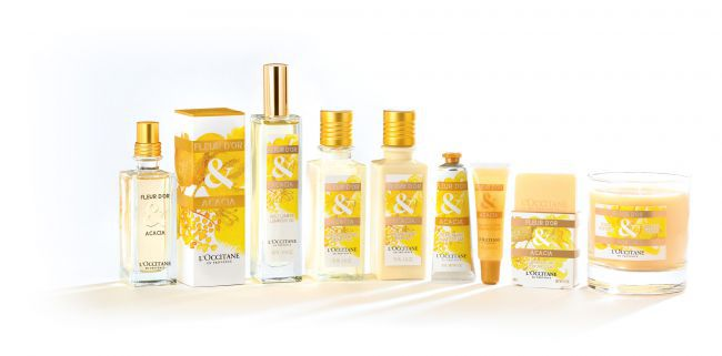 Fleur D'Or & Acacia Collection