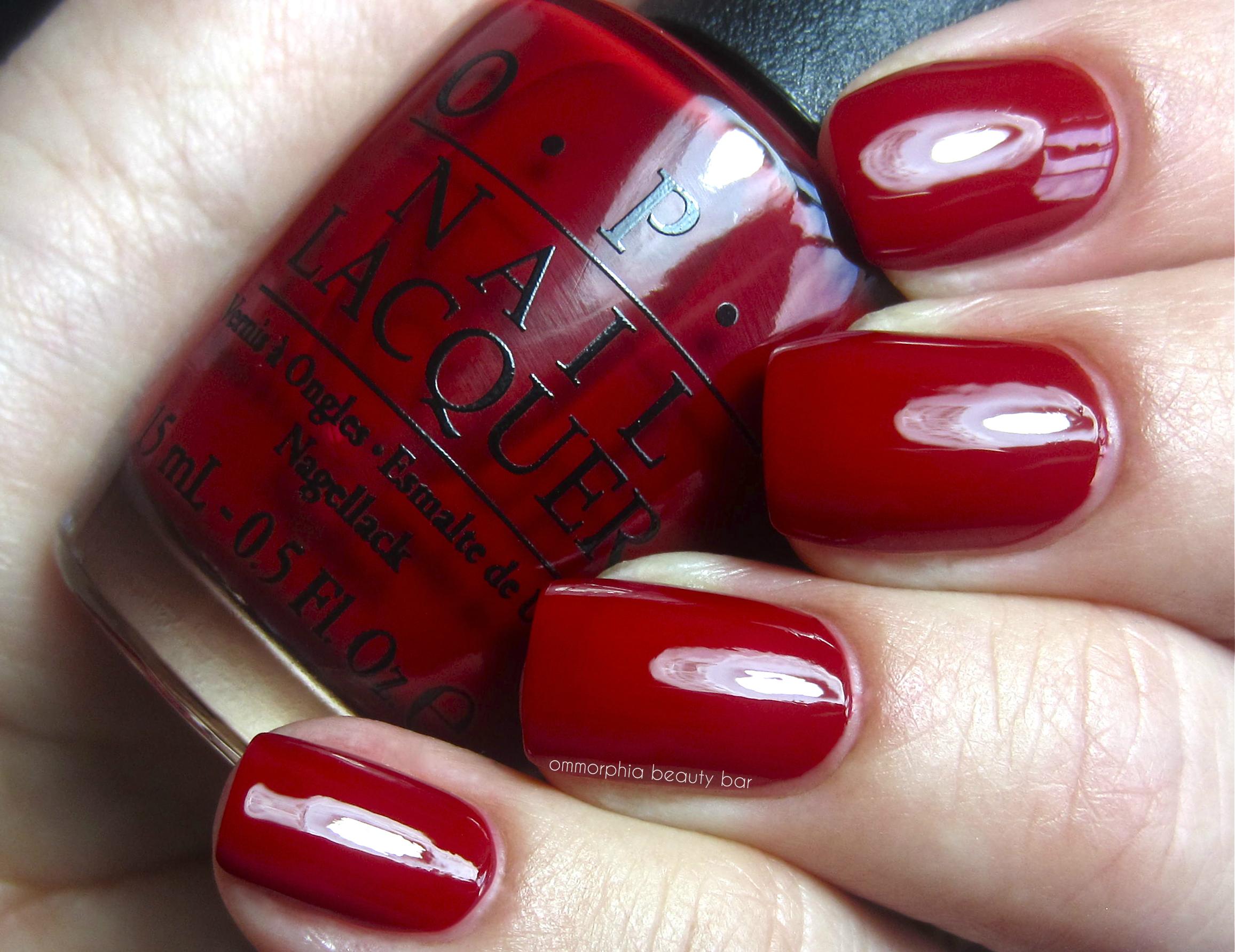 78 Opi Nail Polish Color Chart Reds 10 Best Nail