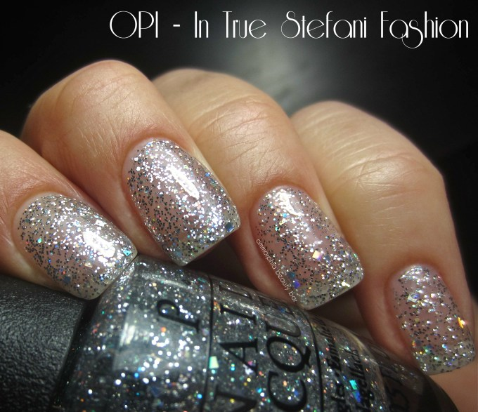 OPI In True Stefani Fashion swatch