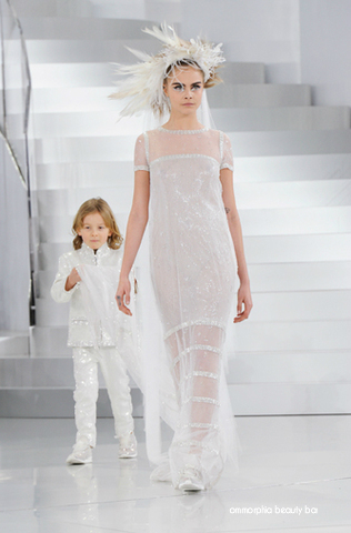 CHANEL SS 2014 Haute Couture Bridal