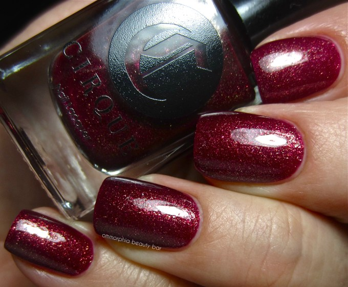 Cirque Arcane Fire swatch 2