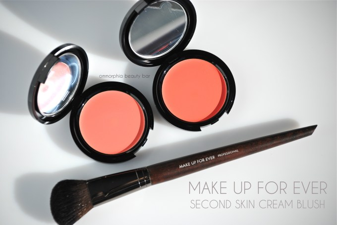 MUFE Second Skin Cream Blush opener