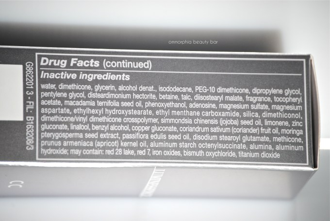 GA Luminessence CC ingredients 2