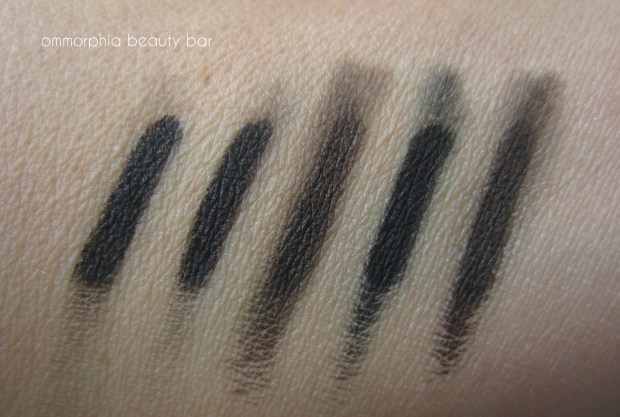 L'Oreal eyeliner comparisons smudged
