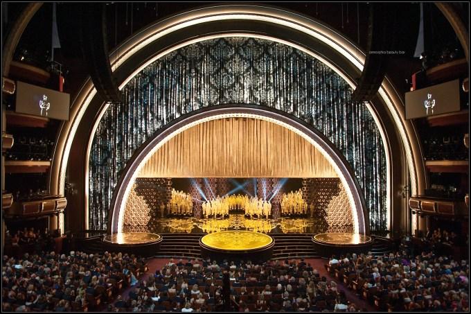Oscars auditorium view