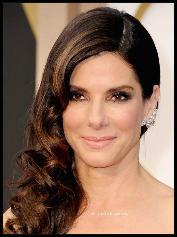 Sandra Bullock makeup Oscars 2014
